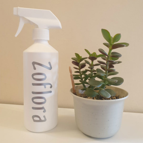 Zoflora bottle vinyl